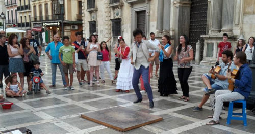 Street Performances in Granada